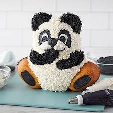 Amazoncom Wilton Teddy Bear 3d Cake Pan Set A Teddy Bear Made Of