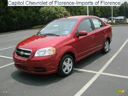 2010 Sport Red Chevrolet Aveo LT Sedan #32683086 | GTCarLot.com ...