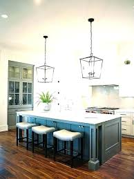 pendant light height from bar counter canopy three bare bulb lighting above kitchen island lights over