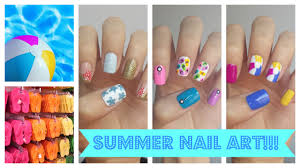 Easy Summer Nail Designs Summer Nail Art Three Easy Ideas Jennyclairefox