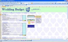 free wedding budget worksheet wedding budget template free