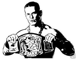 Wwe Coloring Pages Of John Cena Color Bros