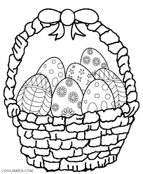 Printable Coloring Sheets For Pages Easy Easter Colouring Pictures