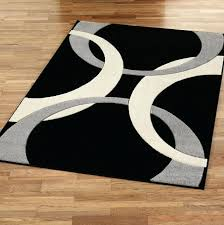 black and white area rugs grey rug 5x7 outdoor a perfect choice white area rug