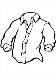 Print Een Kleurplaat Overhemd Gratis Kleurplaten Kleidung Kleidung
