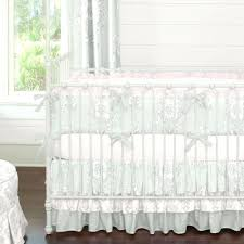 glenna jean isabella crib bedding silver french angel baby by carousel designs features the wonderful classic