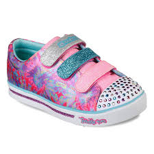 Skechers Light Up Children S Shoes Skechers Twinkle Toes Shuffles Sparkle Glitz Pop Party Girls