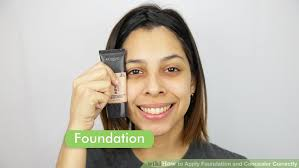 image led apply foundation and concealer correctly step 1