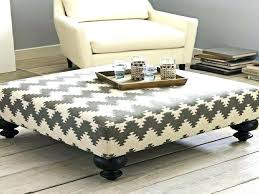 fabric coffee table. Soft Coffee Table Awesome Charming Fabric Ottoman S