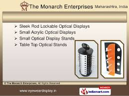 Optical Display Stands Optical Display Items by The Monarch Enterprises Mumbai 57