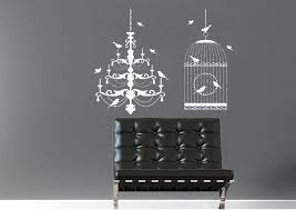 full size of chandelier wall decal with rhinestones sticker stickers uk bird interior art decals cage