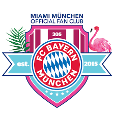 Fc bayern munchen logo design over a red abstract patterned background. Fc Bayern Munchen Fan Club Miami Munchen In Florida Home Facebook