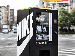 Huge Vending Machine Adorable The Nike Vending Machine That Accepted Fuelband Points As A Form Of