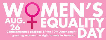 Image result for Image to depict women's equality day 2018..