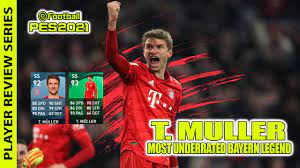 Thomas Muller in Pes 2021 Mobile |Underrated Player|Bayern Legend| Player  Review Series in Malayalam - YouTube