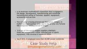 nike swot analysis nike pest analysis nike case study nike swot analysis nike pest analysis nike case study assignment for students