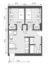 floor plan of a house with dimensions. Marvellous 6 Floor Plans With Dimensions House By Plan Of A L