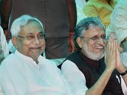பி.ஜே.பி ஆதரவுடன் தற்போது நிதிஷ்குமார் மீண்டும் பீகார் முதல்வராகப் பதவியேற்றுக்கொண்டார்