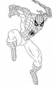 Coloring pages are fun for children of all ages and are a great educational tool that helps children develop fine motor skills, creativity and color recognition! Spiderman Free Printable Coloring Pages For Kids