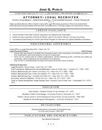 law resume samples