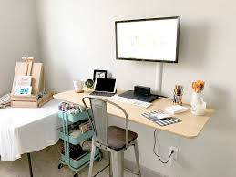 home office standing desk. Art-of-trying-standing-desk-diy-2.jpg Home Office Standing Desk