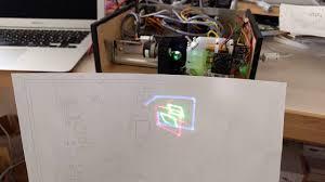 diy rgb color laser projector