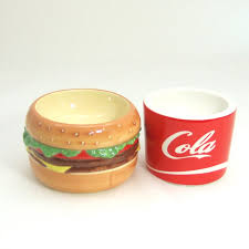 2015 Monbento New Sgs Bowls For Dog Lunch Box Bowl Japan Onlypet Super Cute  Hamburger Cola Ceramic Pottery Of Pet Food Bowl-in Dog Feeding from Home ...