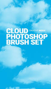 Cloud Photoshop Brushes Cloud Free Photoshop Brush Set Photoshop Tutorials Photoshop