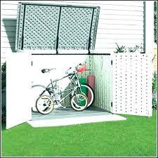 diy bike shed outdoor bike shed bicycle storage plastic ideas diy shed bike rack diy bike