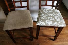 stylish how to guide recovering a drop in chair seat fabric place basement fabric for dining room chair seats remodel