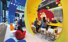 google dublin ireland best office interiors
