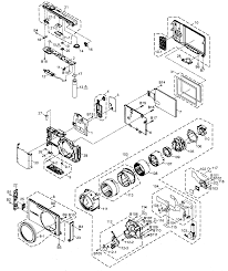 Electric diagram of camera digital schematic and cabi parts list for model dmcfh20p panasonic obscura thumbnail