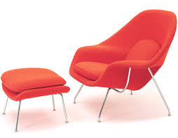knoll egg chair. Womb Chair Ottoman Eero Saarinen Knoll Lounge Hivemodern Com Egg Exceptional