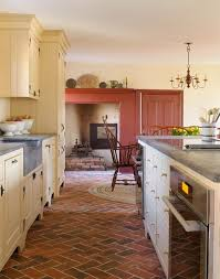 brick flooring timeless beauty in the