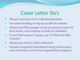 Snazzy Cover Letter Don T Know Name Resume Cover Letter When You
