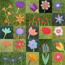 Flower Applique Quilt Patterns