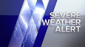 Severe Thunderstorm Warning until 3AM ...