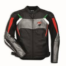 ducati corse c3 leather riding jacket