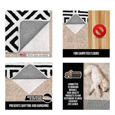gorilla rug pads grip original area gripper for carpeted floors made usa size