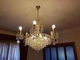 genuine swarovski chandelier