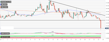 Bitcoin Gold Usd Chart Bitcoin Gold Market Update Breaks 25 Support To Post 14
