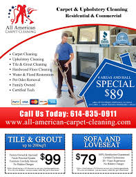carpet cleaning flyer all american carpet cleaning carpet cleaning 4846 founders dr