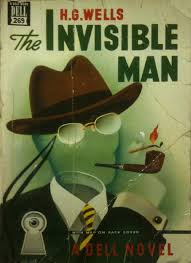 review of the invisible man by h g wells sffaudio the invisible man by h g wells a dell book front cover of the mapback