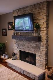 fireplace mantels with tv above with inspirationn corner stone fireplace mantels home design ideas