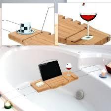 wooden bathtub caddy amazing teak bathtub tray target trays bath
