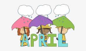 Image result for April calendar clipart