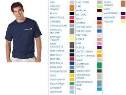 Hanes Tagless T Shirts