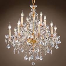 good looking rococo crystal chandelier 28 463591 02