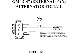 gm 5 3 engine information wiring wiring library delco remy cs30 alternator wiring diagram upgrades and gm 5
