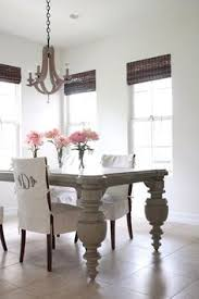 monogrammed slipcovers gorgeous chandelier from me oh my dining chair makeoverdining room